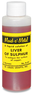 liver of sulphur- liquid