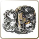 Steampunk Ring Icon