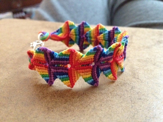 Zolino Friendship Bracelet Pattern
