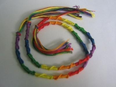 Multi-Colored Braided Bracelet